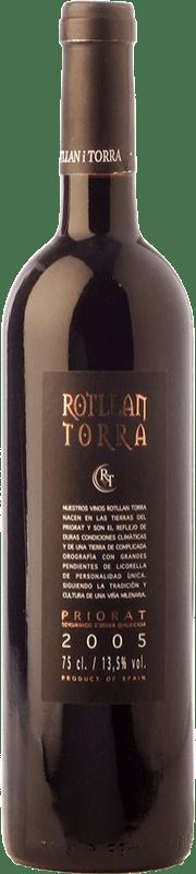 6,95 € Envío gratis | Vino tinto Rotllan Torra Joven D.O.Ca. Priorat Cataluña España Garnacha, Cabernet Sauvignon, Cariñena Botella 75 cl