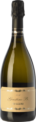 15,95 € Free Shipping | White sparkling Ruggeri Giustino B. Extra Dry D.O.C.G. Prosecco di Conegliano-Valdobbiadene Treviso Italy Glera Bottle 75 cl. | Thousands of wine lovers trust us to get the best price guarantee, free shipping always and hassle-free shopping and returns.