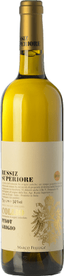 23,95 € Free Shipping | White wine Russiz Superiore D.O.C. Collio Goriziano-Collio Friuli-Venezia Giulia Italy Pinot Grey Bottle 75 cl