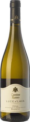 22,95 € Free Shipping | White wine Russo Bianco Luce di Lava D.O.C. Etna Sicily Italy Carricante, Catarratto Bottle 75 cl