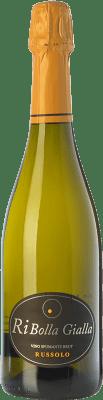 14,95 € Free Shipping | White sparkling Russolo Brut I.G.T. Friuli-Venezia Giulia Friuli-Venezia Giulia Italy Ribolla Gialla Bottle 75 cl
