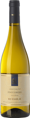 11,95 € Free Shipping | White wine Russolo Pinot Grigio Armentaressa I.G.T. Friuli-Venezia Giulia Friuli-Venezia Giulia Italy Pinot Grey Bottle 75 cl
