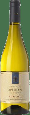 16,95 € Free Shipping | White wine Russolo Ronco Calaj I.G.T. Friuli-Venezia Giulia Friuli-Venezia Giulia Italy Chardonnay Bottle 75 cl