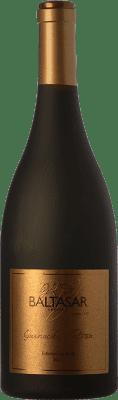 47,95 € Envío gratis | Vino tinto San Alejandro Baltasar Gracián Nativa Crianza D.O. Calatayud Aragón España Garnacha Botella 75 cl