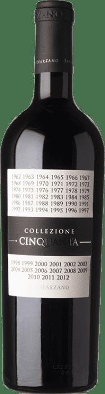 23,95 € Free Shipping | Red wine San Marzano Collezione Cinquanta Italy Primitivo, Negroamaro Bottle 75 cl