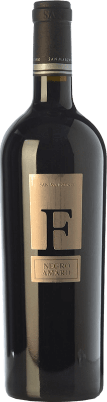 27,95 € Envío gratis | Vino tinto San Marzano F I.G.T. Salento Campania Italia Negroamaro Botella 75 cl