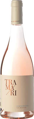 12,95 € Envoi gratuit | Vin rose San Marzano Tramari Rosé di Primitivo I.G.T. Salento Campanie Italie Primitivo Bouteille 75 cl