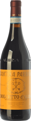 9,95 € Free Shipping | Red wine San Michele Cantina Parroco D.O.C.G. Dolcetto d'Alba Piemonte Italy Dolcetto Bottle 75 cl