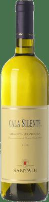 14,95 € Free Shipping | White wine Santadi Cala Silente D.O.C. Vermentino di Sardegna Sardegna Italy Vermentino Bottle 75 cl