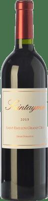 19,95 € Free Shipping | Red wine Santayme Crianza A.O.C. Saint-Émilion Grand Cru Bordeaux France Merlot Bottle 75 cl