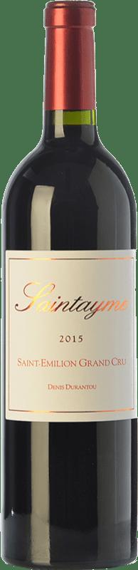 19,95 € Envoi gratuit   Vin rouge Santayme Crianza A.O.C. Saint-Émilion Grand Cru Bordeaux France Merlot Bouteille 75 cl