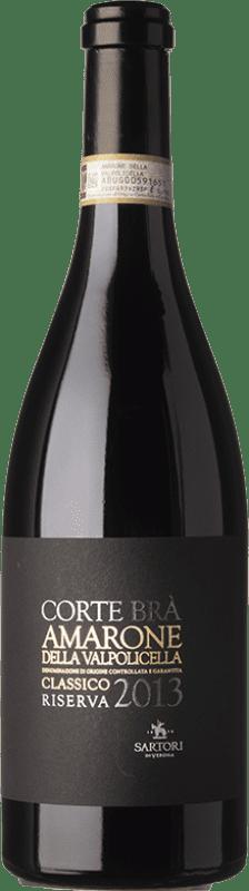 49,95 € Free Shipping | Red wine Sartori Amarone Classico Corte Brà 2010 D.O.C.G. Amarone della Valpolicella Veneto Italy Corvina, Rondinella, Corvinone, Oseleta Bottle 75 cl