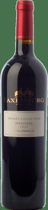 22,95 € Free Shipping | Red wine Saxenburg PC Crianza I.G. Stellenbosch Stellenbosch South Africa Pinotage Bottle 75 cl