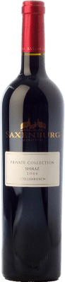 32,95 € Free Shipping | Red wine Saxenburg PC Shiraz Crianza I.G. Stellenbosch Stellenbosch South Africa Syrah Bottle 75 cl