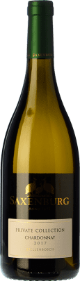 19,95 € Free Shipping | White wine Saxenburg PC Crianza I.G. Stellenbosch Stellenbosch South Africa Chardonnay Bottle 75 cl