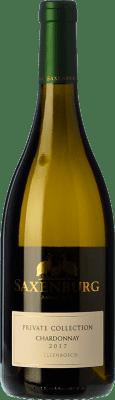 17,95 € Free Shipping | White wine Saxenburg PC Crianza I.G. Stellenbosch Stellenbosch South Africa Chardonnay Bottle 75 cl