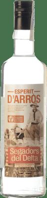 24,95 € Free Shipping | Marc Segadors del Delta Esperit d'Arròs Catalonia Spain Bottle 70 cl