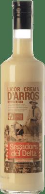 9,95 € Envío gratis | Crema de Licor Segadors del Delta Licor d'Arròs Cataluña España Botella 70 cl