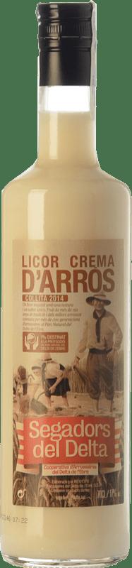 11,95 € Free Shipping | Liqueur Cream Segadors del Delta Licor d'Arròs Catalonia Spain Bottle 70 cl