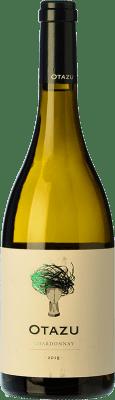 9,95 € Kostenloser Versand | Weißwein Señorío de Otazu D.O. Navarra Navarra Spanien Chardonnay Flasche 75 cl