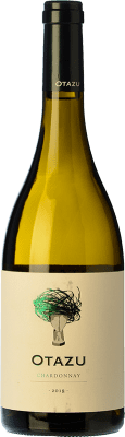 9,95 € Free Shipping | White wine Señorío de Otazu D.O. Navarra Navarre Spain Chardonnay Bottle 75 cl