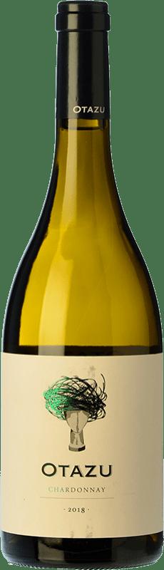 9,95 € Envío gratis | Vino blanco Señorío de Otazu D.O. Navarra Navarra España Chardonnay Botella 75 cl