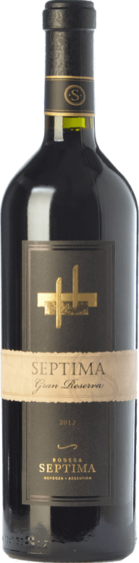 21,95 € Envoi gratuit | Vin rouge Séptima Gran Reserva I.G. Mendoza Mendoza Argentine Cabernet Sauvignon, Malbec, Tannat Bouteille 75 cl