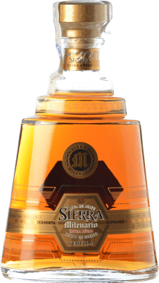 55,95 € Free Shipping | Tequila Sierra Milenario Extra Añejo Jalisco Mexico Bottle 70 cl