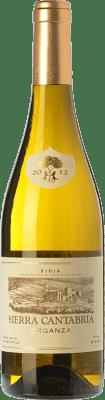 16,95 € Free Shipping | White wine Sierra Cantabria Organza Crianza D.O.Ca. Rioja The Rioja Spain Viura, Malvasía, Grenache White Bottle 75 cl