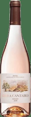 6,95 € Free Shipping | Rosé wine Sierra Cantabria D.O.Ca. Rioja The Rioja Spain Tempranillo, Grenache, Viura Bottle 75 cl
