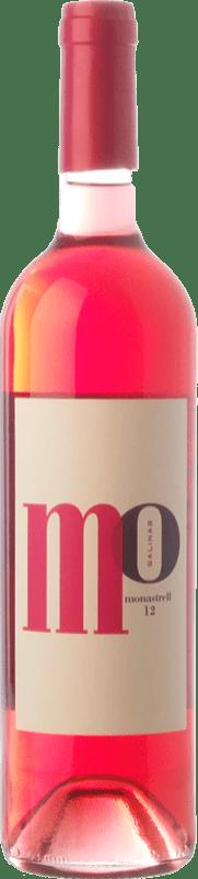 4,95 € Envío gratis | Vino rosado Sierra Salinas Mo Monastrell Rosé D.O. Alicante Comunidad Valenciana España Cabernet Sauvignon, Monastrell, Garnacha Tintorera Botella 75 cl