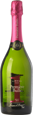 9,95 € Free Shipping | White sparkling Sieur d'Arques Première Bulle Nº 1 Fucsia Reserva A.O.C. Blanquette de Limoux Languedoc-Roussillon France Chardonnay, Chenin White, Mauzac Bottle 75 cl. | Thousands of wine lovers trust us to get the best price guarantee, free shipping always and hassle-free shopping and returns.