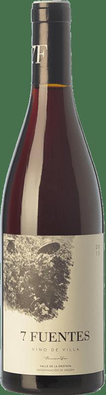13,95 € Free Shipping | Red wine Soagranorte Suertes del Marqués 7 Fuentes Joven D.O. Valle de la Orotava Canary Islands Spain Listán Black, Tintilla Bottle 75 cl