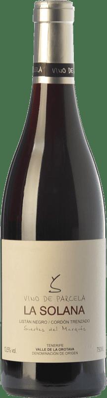 18,95 € Envío gratis | Vino tinto Soagranorte Suertes del Marqués La Solana Joven D.O. Valle de la Orotava Islas Canarias España Listán Negro Botella 75 cl