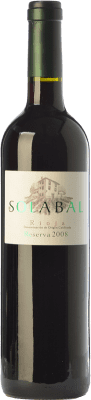 16,95 € Free Shipping | Red wine Solabal Reserva D.O.Ca. Rioja The Rioja Spain Tempranillo Bottle 75 cl