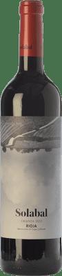 8,95 € Free Shipping | Red wine Solabal Crianza D.O.Ca. Rioja The Rioja Spain Tempranillo Magnum Bottle 1,5 L