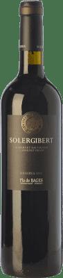 13,95 € Free Shipping | Red wine Solergibert Cabernet Reserva 2011 D.O. Pla de Bages Catalonia Spain Cabernet Sauvignon, Cabernet Franc Bottle 75 cl