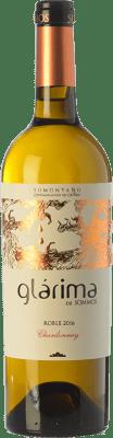 6,95 € Kostenloser Versand | Weißwein Sommos Glárima Crianza D.O. Somontano Aragón Spanien Chardonnay Flasche 75 cl