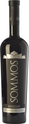 39,95 € Free Shipping | Red wine Sommos Premium Crianza D.O. Somontano Aragon Spain Tempranillo, Merlot, Syrah Bottle 75 cl