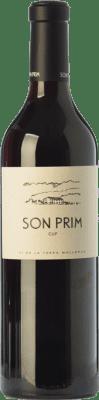 21,95 € Envío gratis | Vino tinto Son Prim CUP Crianza I.G.P. Vi de la Terra de Mallorca Islas Baleares España Merlot, Syrah, Cabernet Sauvignon Botella 75 cl