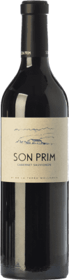 22,95 € Free Shipping | Red wine Son Prim Cabernet Crianza I.G.P. Vi de la Terra de Mallorca Balearic Islands Spain Cabernet Sauvignon Bottle 75 cl
