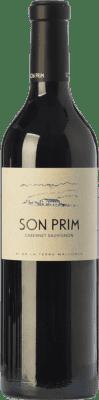 27,95 € Free Shipping | Red wine Son Prim Cabernet Crianza I.G.P. Vi de la Terra de Mallorca Balearic Islands Spain Cabernet Sauvignon Bottle 75 cl
