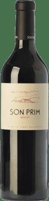 23,95 € Free Shipping | Red wine Son Prim Crianza I.G.P. Vi de la Terra de Mallorca Balearic Islands Spain Merlot Bottle 75 cl