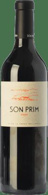 18,95 € Free Shipping | Red wine Son Prim Crianza I.G.P. Vi de la Terra de Mallorca Balearic Islands Spain Syrah Bottle 75 cl