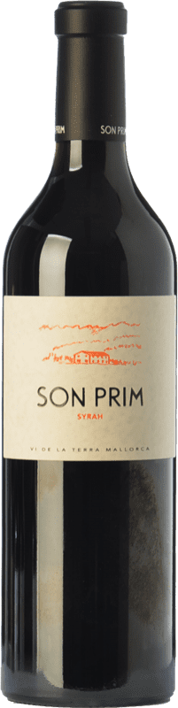 15,95 € Free Shipping | Red wine Son Prim Crianza I.G.P. Vi de la Terra de Mallorca Balearic Islands Spain Syrah Bottle 75 cl