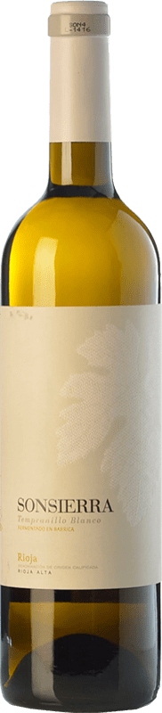 8,95 € Free Shipping | White wine Sonsierra Crianza D.O.Ca. Rioja The Rioja Spain Tempranillo White Bottle 75 cl