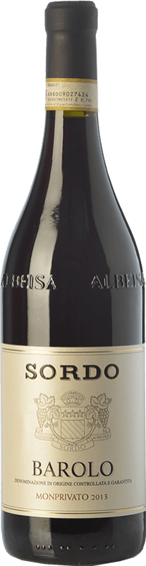 71,95 € Envoi gratuit | Vin rouge Sordo Monprivato D.O.C.G. Barolo Piémont Italie Nebbiolo Bouteille 75 cl