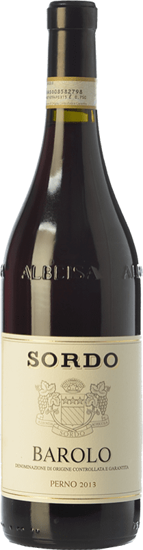 53,95 € Free Shipping | Red wine Sordo Perno D.O.C.G. Barolo Piemonte Italy Nebbiolo Bottle 75 cl