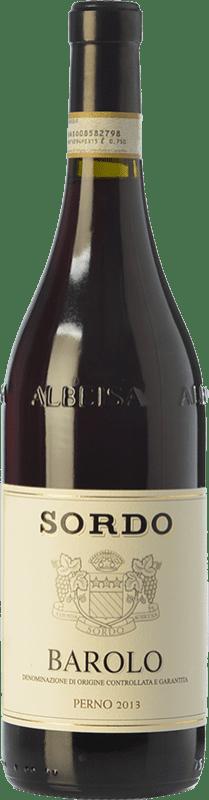 45,95 € Envoi gratuit | Vin rouge Sordo Perno D.O.C.G. Barolo Piémont Italie Nebbiolo Bouteille 75 cl