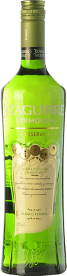 12,95 € Free Shipping | Vermouth Sort del Castell Yzaguirre Blanco Reserva Catalonia Spain Missile Bottle 1 L